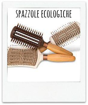 Accessori Eco Biologici Vegan spazzole capelli ecotools